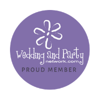 Proud members of Wedding & Party Network!